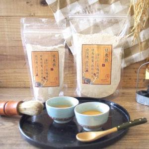 初椿茶X糙米麩-(各5入)-台灣最美農村故事館