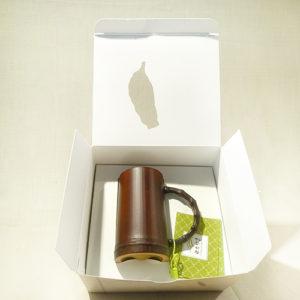 咖啡竹提杯(含盒子)-台灣最美農村故事館